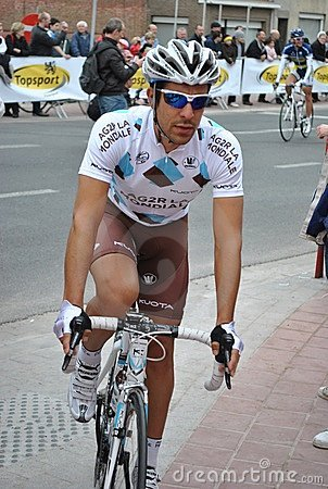 Sebastien Hinault before the start of the E3 Editorial Stock Image