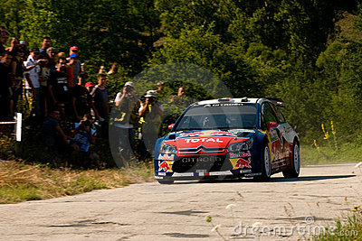 Sebastien Loeb Editorial Stock Image
