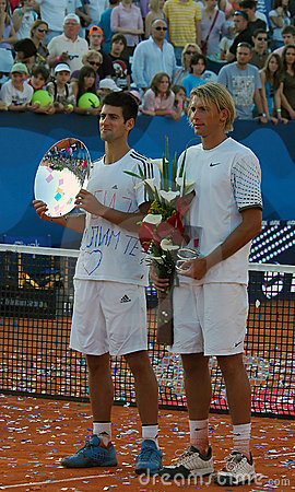 Sebia Open ATP 250 Belgrade 2009 Editorial Stock Image