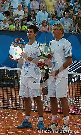 Sebia Open ATP 250 Belgrade 2009 Editorial Stock Image