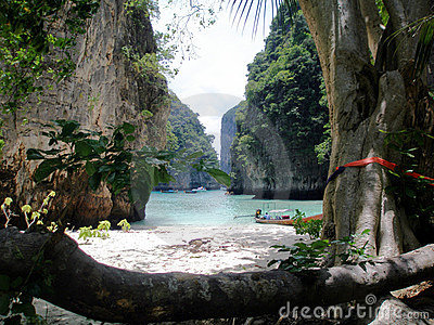 Secluded Beach, Thailand