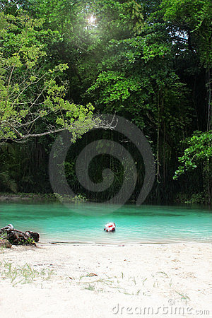 Free Secluded Cove Royalty Free Stock Photography - 23697597