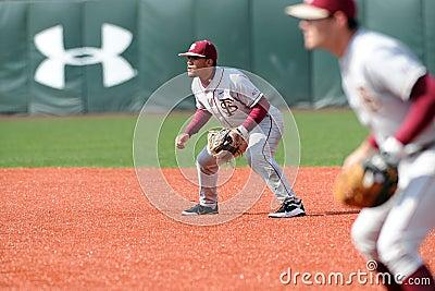 Second basemen Devon Travis on defense Editorial Photo