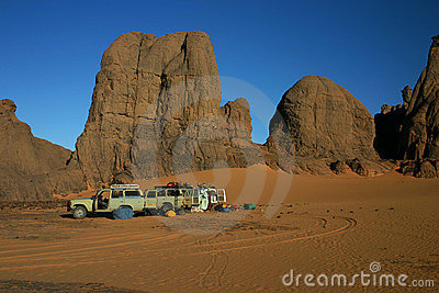 Second Camp in Sahara