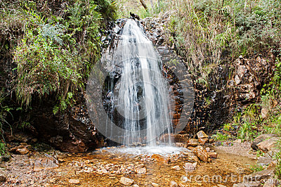 Second Falls in Waterfall Gully,South Australia