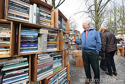 Second Hand Books Editorial Stock Photo