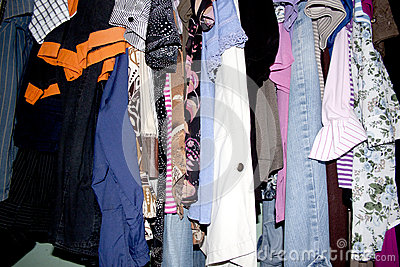 Second Hand Clothing Wardrobe