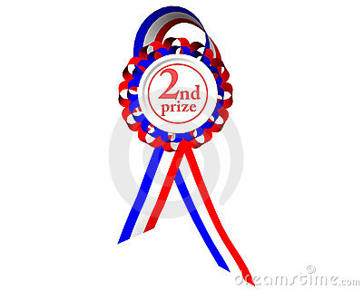 Second prize medal