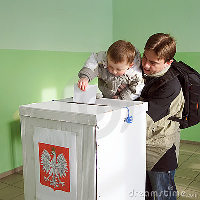 Second round of Local elections in Poland Editorial Image