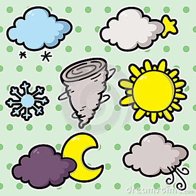 Second set of weather icons.
