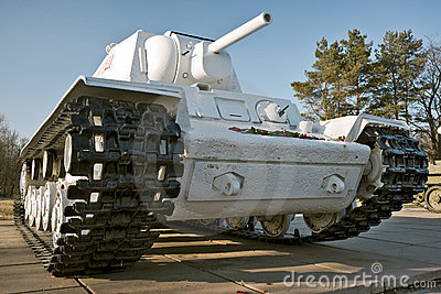 Second World War period tank
