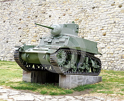 Second World War Tank