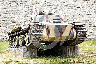 Second World War Tank