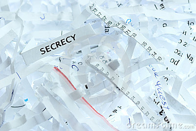 Secrecy a major downfall essay