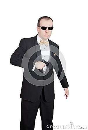 Secret Agent draw
