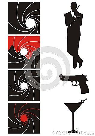 Secret agent set