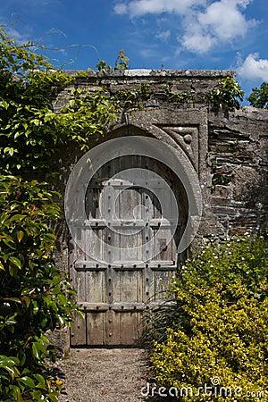 Secret Door To The Magic Garden