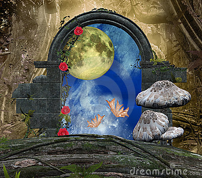 The secret passage series - a romantic moon