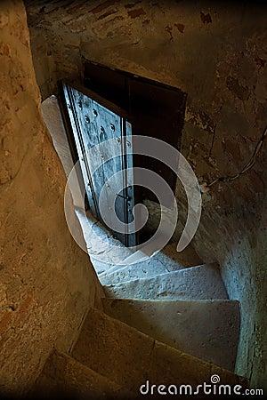 Secret entry passage