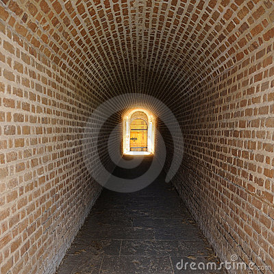 Secret Tunnel Leading to Magic Door