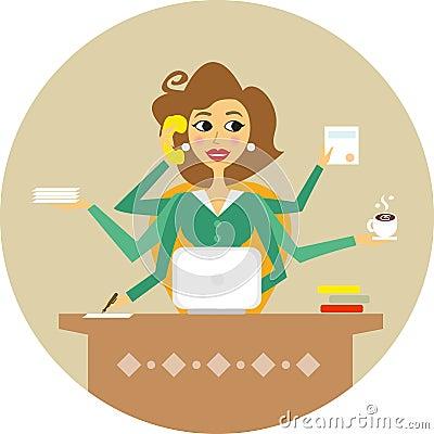 Free Secretary Royalty Free Stock Photography - 34455047