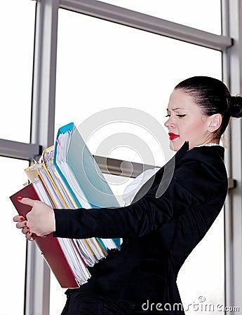 Secretary  in the office