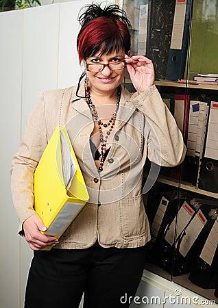 Secretary woman