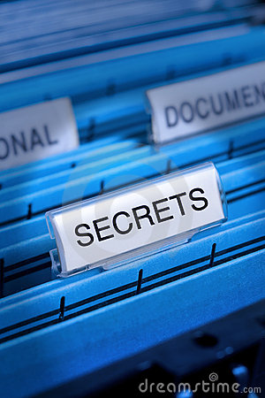 Free Secrets Secrecy Secret Files Stock Photo - 11015500