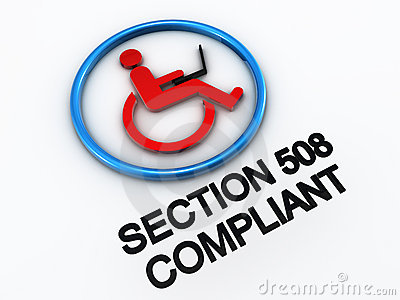 Section 508 accessibility