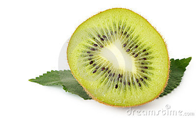 Section kiwi fruit