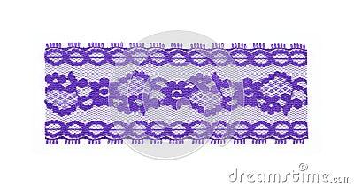 Section purple lace