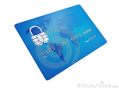 Secure Credit Card Stock Photos - Image: 17364843