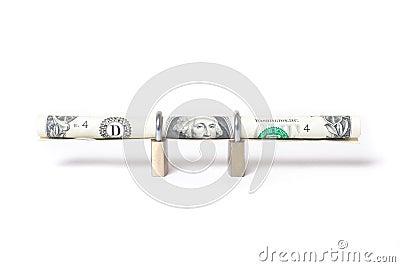 Secure dollar bill