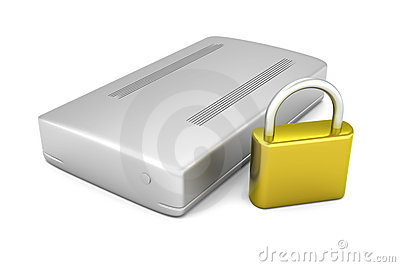 Secure external Hard Drive