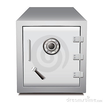 Secure metal safe