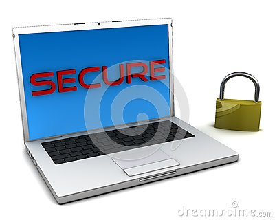 Secure notebook