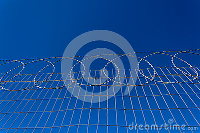 Secure Razor Wire Fencing