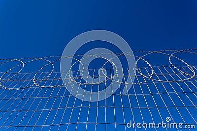 Secure Razor Wire Fencing