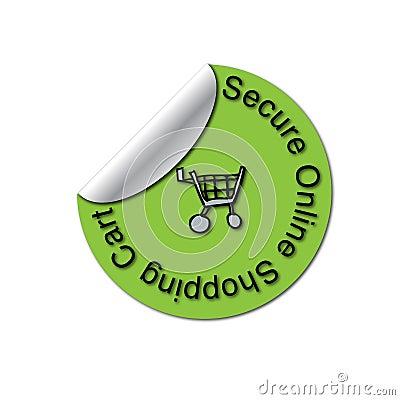Secure SSL Peeled Sticker