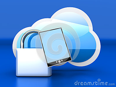 Secure tablet PC Cloud
