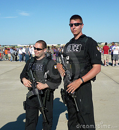 Security at the Air Show