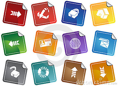 Security Browser Sticker Set