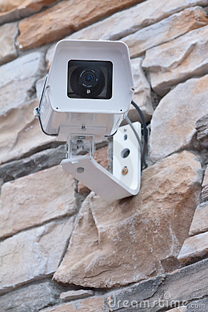 Free Security Camera Royalty Free Stock Photography - 18227757