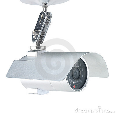 Free Security Camera Royalty Free Stock Images - 9087809