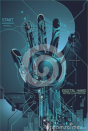 Security concept with digital fingerprint