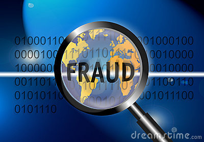 Security Concept Focus Fraud