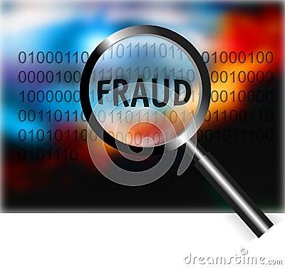 Security Concept Focus Fraud