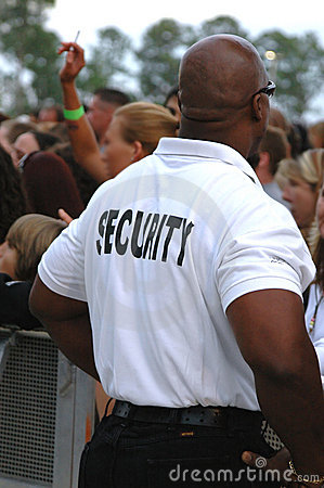 Security guard Editorial Image