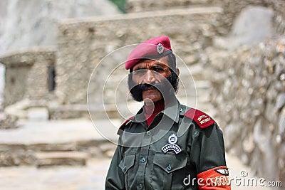 Security Guard Editorial Stock Photo