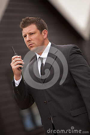 Free Security Guard Royalty Free Stock Photo - 28408535